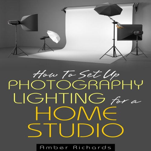 how to set up photography lighting for a home studio audiobook