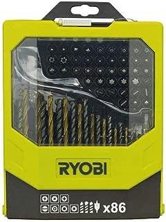 pl/ástico granito y metal RAK6JSBW Ryobi 5132002812 10 unidades Juego de hojas de sierra para madera 6 piezas Hoja de sierra de calar piedra