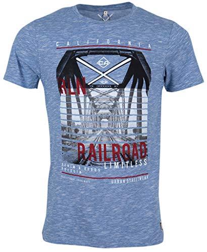 Rocklin Herren T-Shirt Blue Jay 2