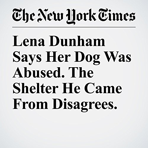 Lena Dunham Says Her Dog Was Abused. The Shelter He Came From Disagrees. copertina