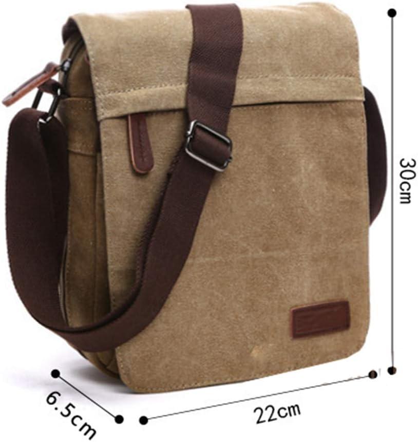 Lfny-bagSac à Main pour Hommes, Sac à bandoulière, Sac Diagonal, Sac à Main, Sac d'ordinateur Portable en Plein air mediumcoffee