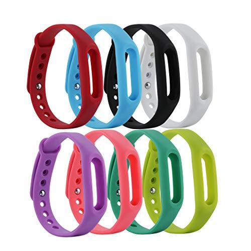 Baaletc Ersatzbänder für XiaoMi XiaoMi Band Band Band 1 1S Armband Ersatz Armband Smart Band Zubehör für Pokemon Go Go-Tcha (ohne Tracker) - Pokemon Go Go-tcha band-12A