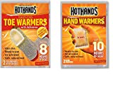HotHands Hand & Toe Warmers Value Pack, Hot Multi-Purpose Heat Packs
