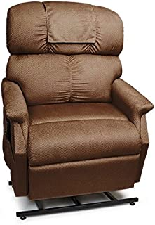 PR-501M-26D Comforter Extra Wide Medium-26 Dual Motor Lift Chair - with Head Pillow Fabric: Palomino