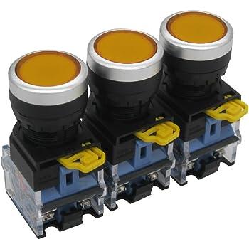 Schließer 10 Stü Drucktastenschalter  Reset Schalter  Ein Aus