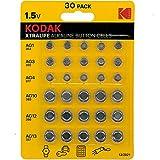 Kodak Xtralife - Pilas alcalinas (30 Unidades, AG1 364,...