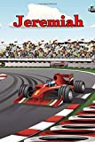 Jeremiah: Racecar Blank Comic Book Notebook Journal book 120 pages 6'x9'