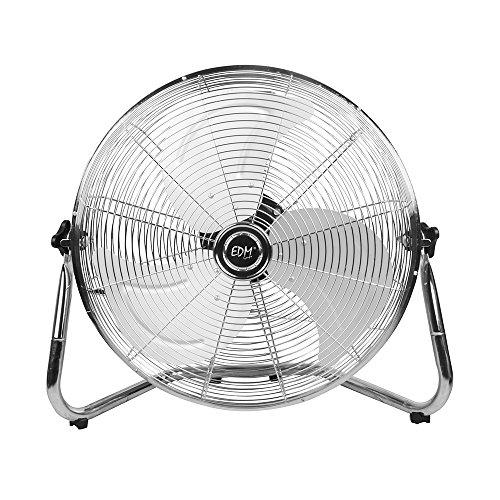 EDM 33936 Ventilador Industrial de Suelo 130W, Cromado, 50 cm