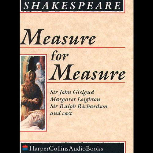 Measure for Measure audiobook cover art