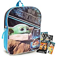 Baby Yoda Mandalorian Star Wars Mini School Backpack with Stickers