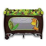 DOTMOM Cobabies Smart Folding Portable Travel Baby Bed Convertible to Rocker, Playpen