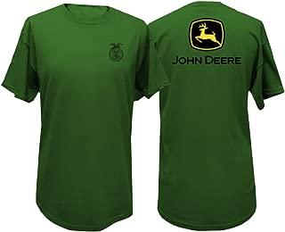 Tee FFA Short Sleeve Mens Green T-Shirt