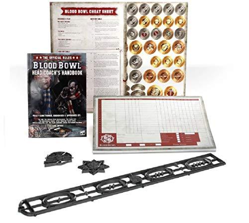 Warhammer Blood Bowl - Head Coach's Rules & Accessories Pack EN