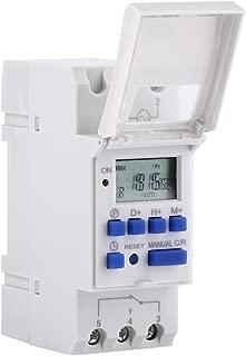 2200W enchufe temporizador Digital enchufe programador semanal para horario Pantalla LCD modo aleatorio antirrobo Ahorrar Energ/ía y Dinero TedGem Temporizador Digital Programable,10A