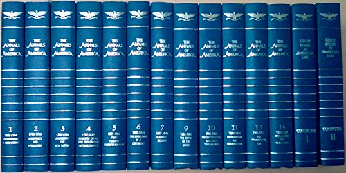 """Encyclopedia Britannica """"The Annals of America""""  (Volumes 1 - 18 and two volume Conspectus)"""