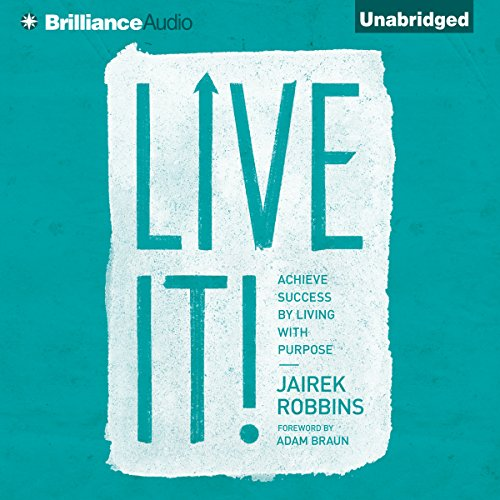 Live It! audiobook cover art