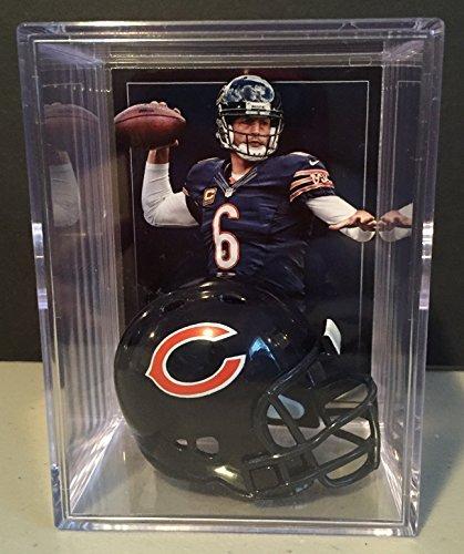 Chicago Bears NFL Helmet Shadowbox w/ Jay Cutler card
