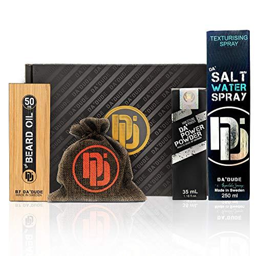 Da Dude Quick Fix Heimhaar Kit SSX-PRO 4 x Produkte Haarstyling-Geschenkset für Männer mit KOSTENLOSEM Da'Wax