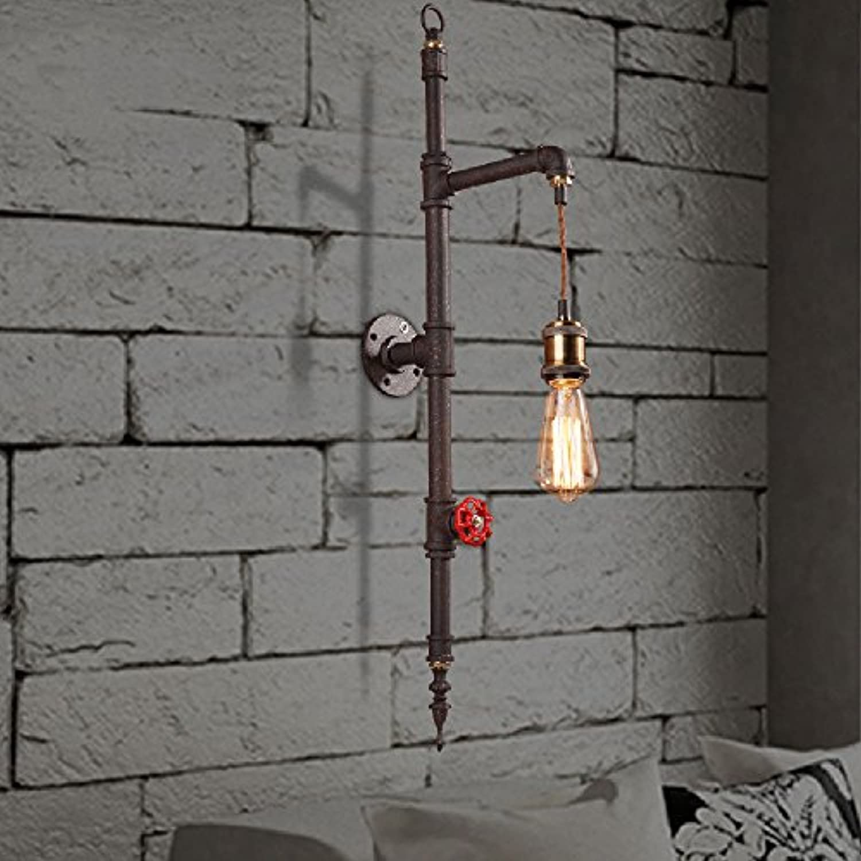Hines Robustes Finish Industrial Solid Iron Wandleuchte Vintage Retro Metallwandleuchte E27 Edison Socket Bar Restaurants Café Schlafzimmer Nachttischlampe Wandleuchte