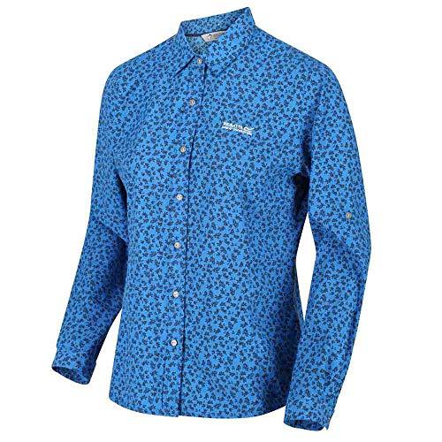 Regatta Womens Nimis II Quick Dry Wicking Long Sleeve Shirt