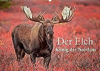 Der Elch - Koenig des Nordens (Wandkalender 2022 DIN A2 quer): 13 beeindruckende Elchportraets aus Alaska. (Monatskalender, 14 Seiten )