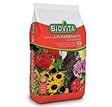 BIOVITA Sustrato universal de 10 litros de sustrato multicomponente listo para usar, tierra de origen natural