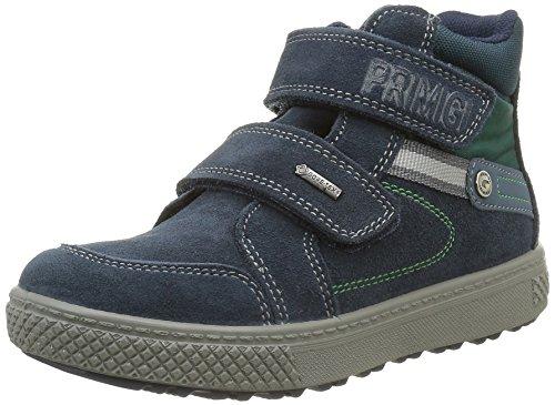 PRIMIGI Jungen Ziky Klassische Stiefel, knöchelhoch, Blau (Navy/Petr/Bott), 34 EU
