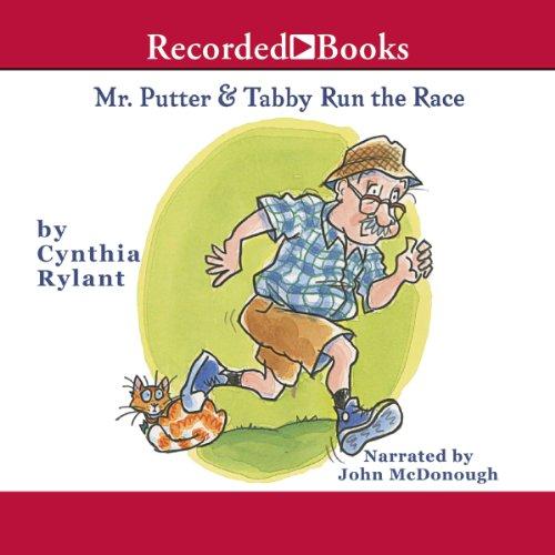 Mr. Putter & Tabby Run the Race audiobook cover art