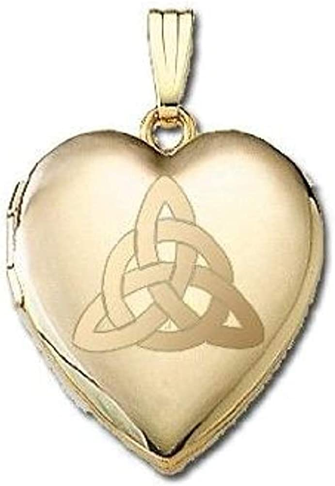 PicturesOnGold.com 14K Yellow Gold Gorgeous Sweetheart Loc Trinity Weekly update Celtic