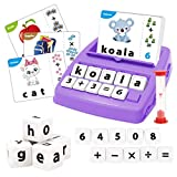 REMOKING Matching Letter Game Toy, Educational Funny Board Word Games, Alphabet Reading, Spelling Game, Number Recognition, Arithmetic Learning, Great Gifts for Kids 3 Years and up