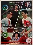 Panini Adrenalyn XL UEFA Euro 2016 Polska Double Trouble - Milik and Lewandowski by Adrenalyn XL
