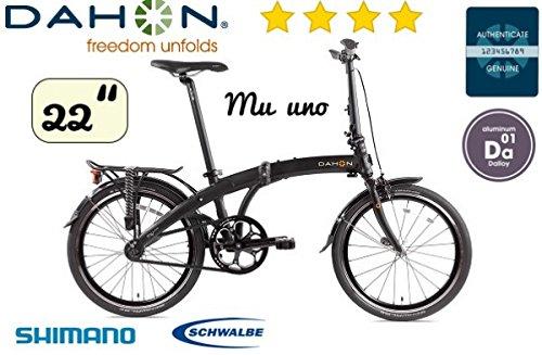 Dahon Mu Uno shadow Faltrad -22Zoll- 10.9kg