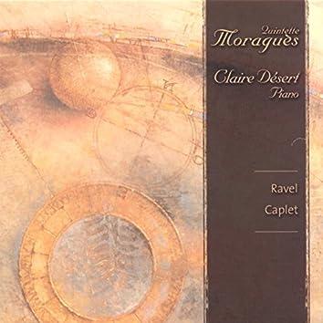 Quintette Moraguès: Caplet & Ravel