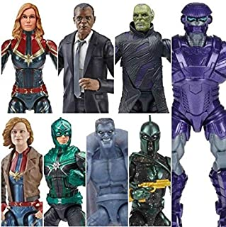 Captain Marvel Marvel Legends Kree Series Set of 7 Action Figures