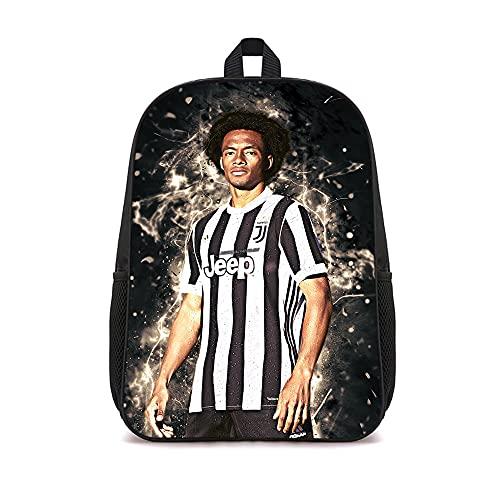 LUOTINGL Mochila clásica con diseño de Juan Cuadrado, mochilas escolares para niñas, niños, bolsa informal de gran capacidad, mochila estampada de 16 pulgadas