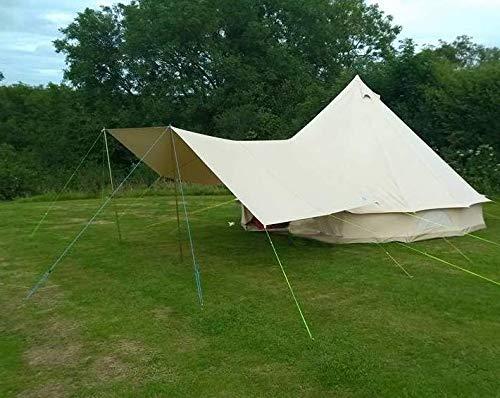 Lot de 8 Ground Sheet Pegs /& Extracteur Heavy Duty Camping Tente Auvent Bâche