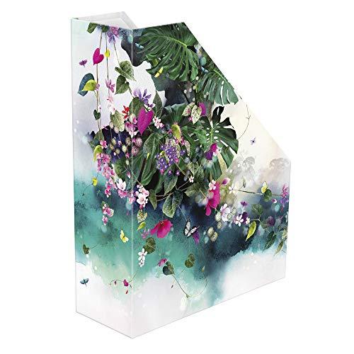 Clairefontaine 83380C Tropical dream - Soporte para revistas (25 x 10 x 31 cm)