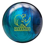 Brunswick Rhino Cobalt/Aqua/Teal Bowling Ball Cobalt/Teal/Aqua, 14lbs