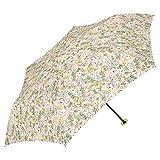 a.s.s.a 日傘 おりたたみ 晴雨兼用 UVカット 遮光 99.99%以上 遮熱効果 3段伸縮 ミニ傘 50cm 花柄 フラワー(FM119/ピンク)