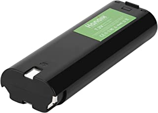 Hanaix 7.2V 3.0Ah Ni-MH Replacement Battery Compatible with Makita 7000 7002 7033 6010D 6172D DA3000D 6018D 6019D 9500D DA301D 6073D 6071D ML702 191679-9 192532-2 192695-4 632002-4 Makita 7000 Battery