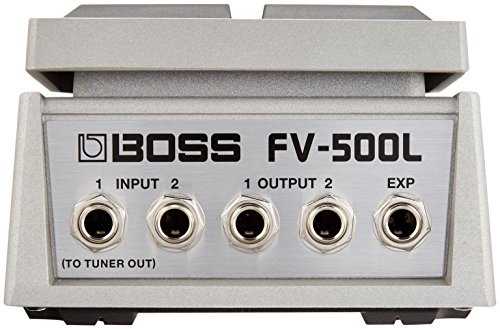 BOSS Heavy Duty Low Impedence Line Level Stereo Volume/Expression Guitar Pedal (FV-500L)