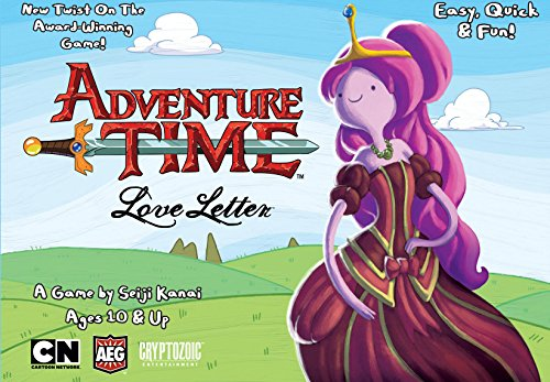 AEG Love Letter Adventure Time Boxed Card Game