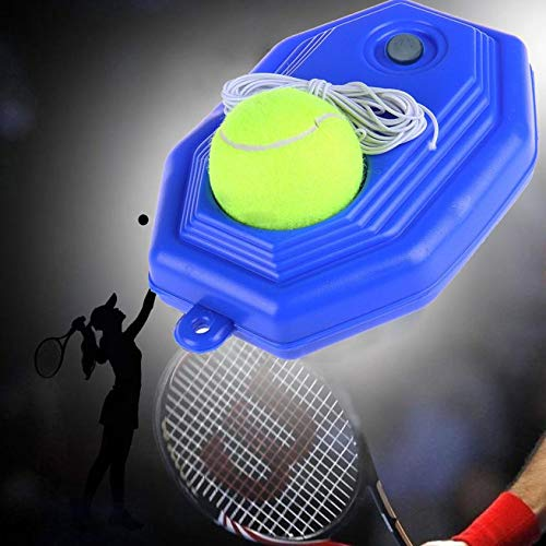 Homely Self-Study Rebound Ball Baseboard with Elastic Dura Tennis Singles Training Pract Tool