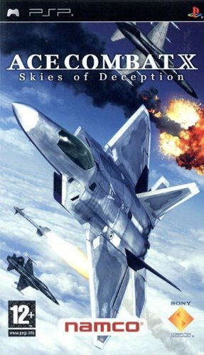 Ace Combat X: Skies of Deception - Platinum Edition (PSP)