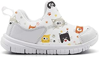 ONEYUAN Children Teddy Bears Decor Kid Casual Lightweight Sport Shoes Sneakers Walking Athletic Shoes