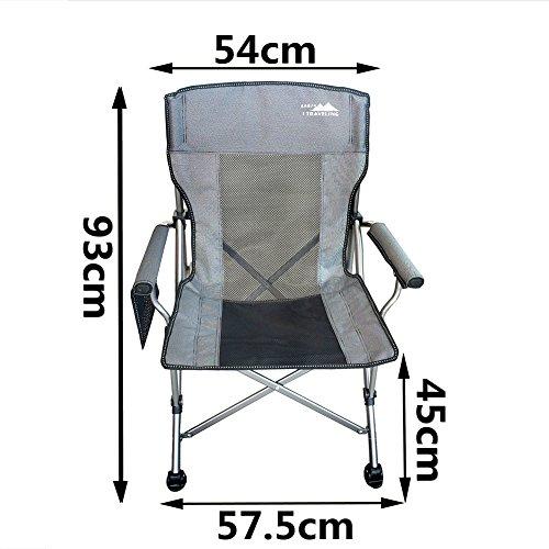 Be&xn Camping klappstuhl außen, Canvas Canvas Liegestühle Amerikanischen Lounge Chair Portable Ageln Stuhl Leisure Stuhl Liegestuhl Mond Stuhl-B W57.5xH93cm(23x37inch)