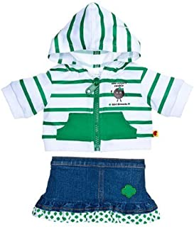Build a Bear Workshop, Girl Scout Hoodie & Skirt Outfit 2 pc. - Teddy Bear Clothing