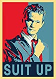 Get Motivation Póster de Barney Stinson Suit Up How I Met Your Mother (45,72 x 30,48 cm, enrollado)...