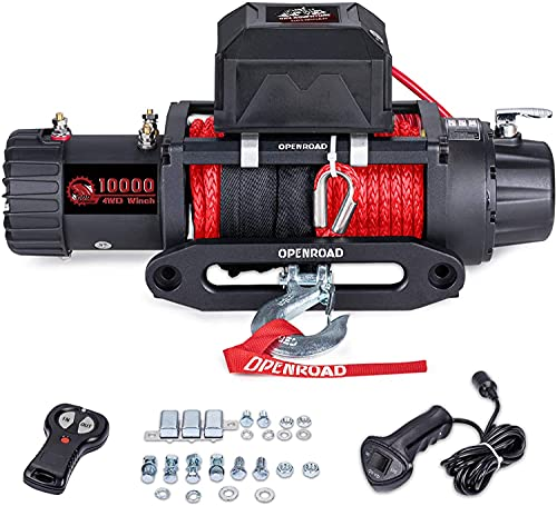 OPENROAD 9500Lbs 12 Volts Electric Winch, Winch...