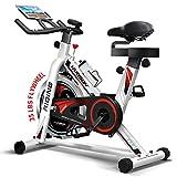 HARISON - Correa de bicicleta para interior y ciclismo, con soporte para iPad de 15,8 kg, volante de volante para el hogar, gimnasio, cardio, entrenamiento de fitness (HR-1850 pro)